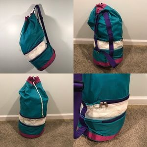 VTG 90s Travel Duffle Bag